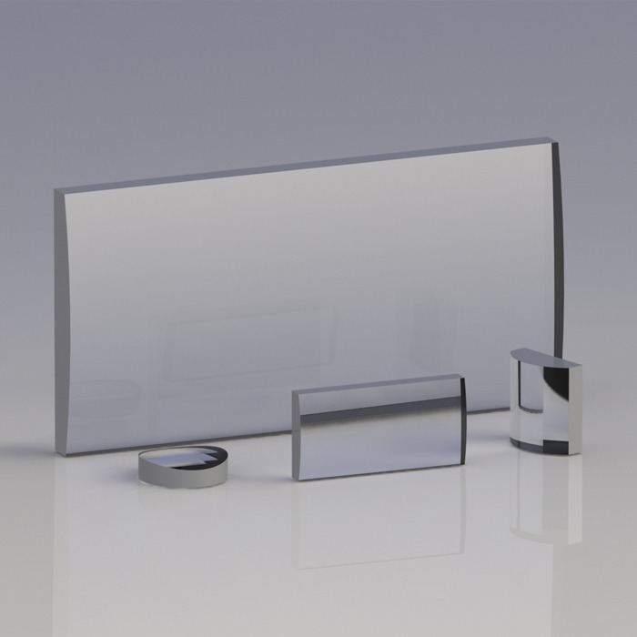 KL25-UV 紫外熔融石英平凸柱面透镜