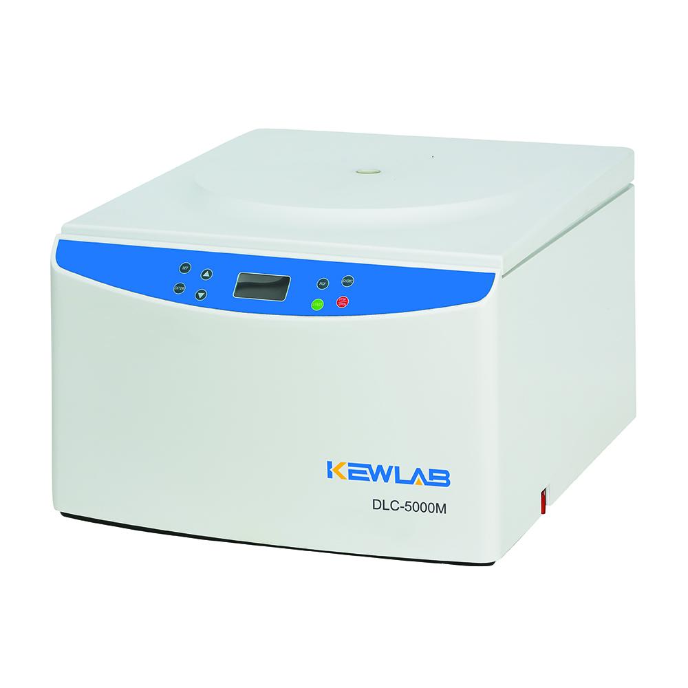 DLC-5000M 多管架自动平衡离心机及配套的转子