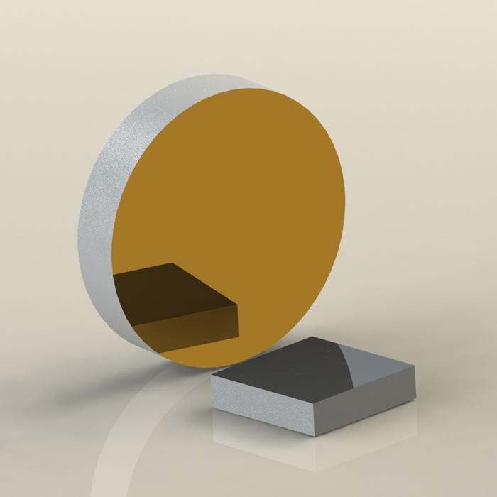 KM22—紫外熔融石英高精度反射镜基底