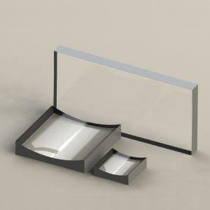 KL16-10x10-012 K9 平凹柱面透镜