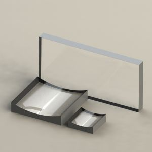 KL16-10x10-025 K9 平凹柱面透镜