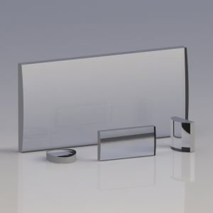 KL25-025-075 紫外熔融石英平凸柱面透镜